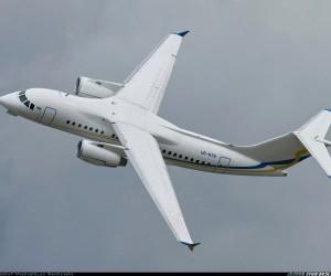 Entregan a Cuba tercer avión An-158