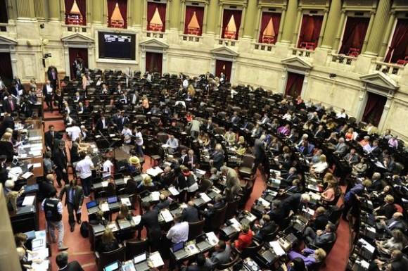 Debates en parlamento Argentino