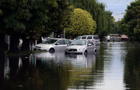 argentina inundaciones afp