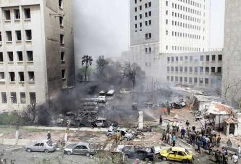 atentado en siria