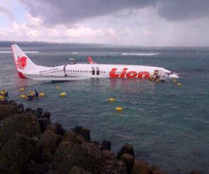 accidente de avión Bali