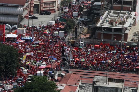 Cierre de campaña de Nicolas Maduro.