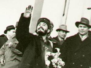 Fidel en Rusia.