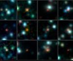Imagen de las galaxias observadas.
