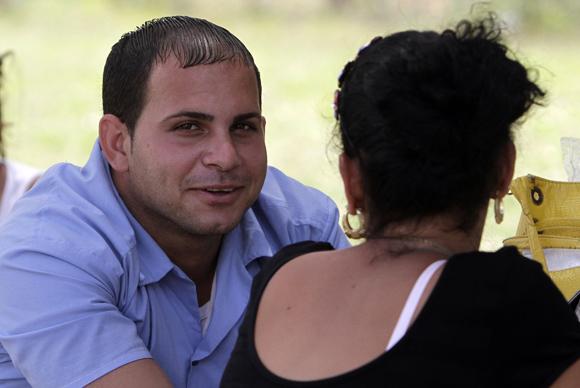 Eric Clares, interno del Centro de Jovenes de San Francisco de Paula.  Foto: Ismael Francisco/Cubadebate