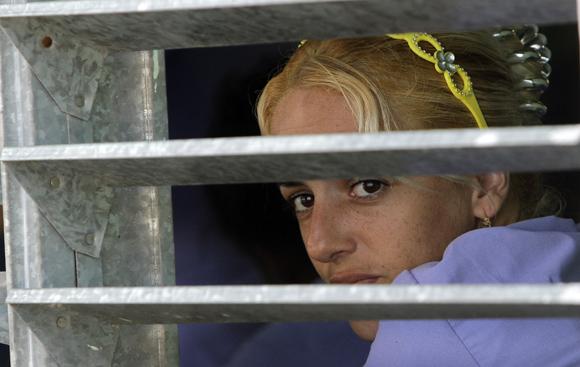 Una detenida en la Carcel de mujeres de la Habana. Foto: Ismael Francisco/Cubadebate.