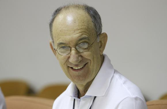 Rui Falcao, presidente del partido del Trabajo, en rueda de prensa. Foto: Ismael Francisco/Cubadebate.