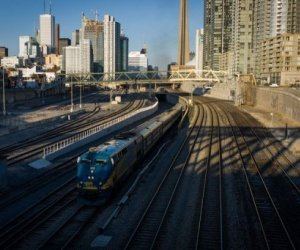 trenes de canadá
