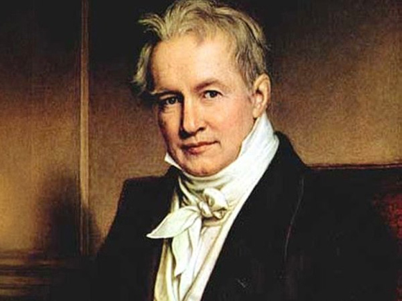 Alejandro de Humboldt es considerado uno de los fundadores de la geografía moderna.