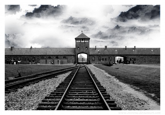 Auschwitz_Birkenau__II_B_n___W_by_Everona