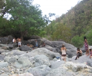 Camino Rio la Mula