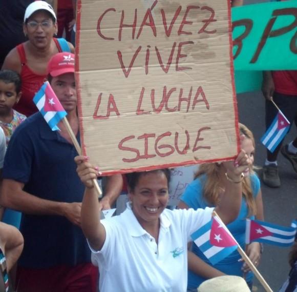 Desfile en la Isla de la Juventud