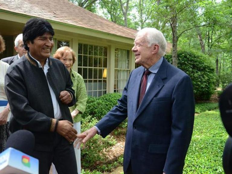 JIMMY-CARTER-EVO-MORALES