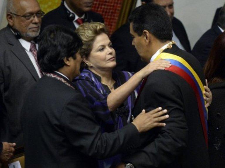 Maduro Dilma y Evo
