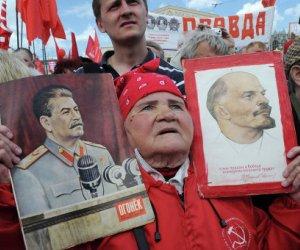 Marcha en Rusia 1