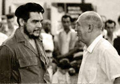 Najdorf y el Che.