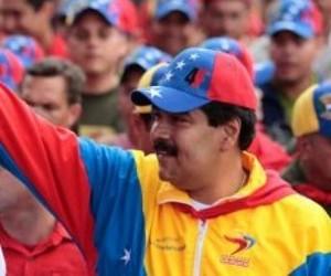 Maduro se incorpora a la Marcha de la clase obrera