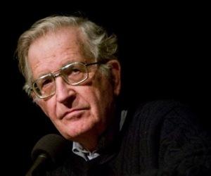 Noam Chomsky. Foto: Archivo.
