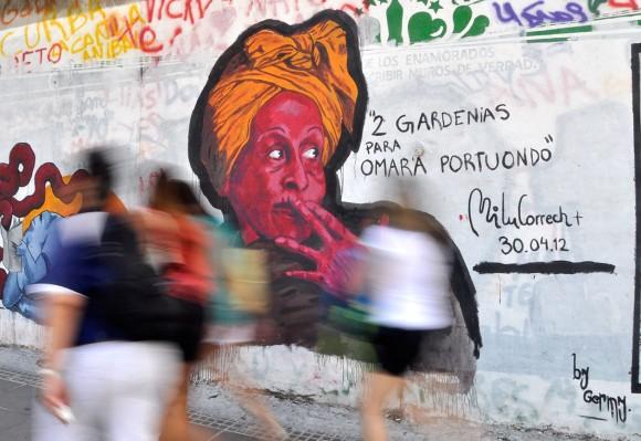 Omara en Buenos Aires. Foto: Kaloian.