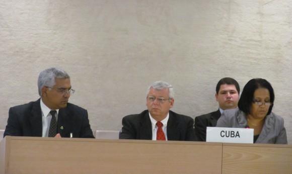 Anayansi Rodríguez, Rafael Pino Oscar Manuel Silvera, vicepresidente del Tribunal Supremo Popular;