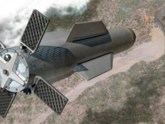 Se trata de la bomba GBU-57, o 'Massive Ordnance Penetrator' (MOP), diseñada para penetrar fortificaciones subterráneas.
