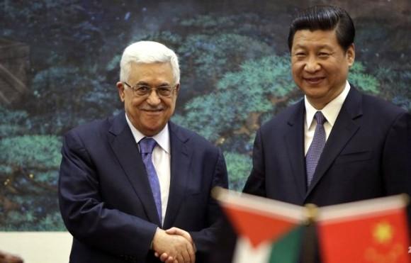 Xi jinping-mahmoud abbas