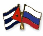 banderas cuba y rusia