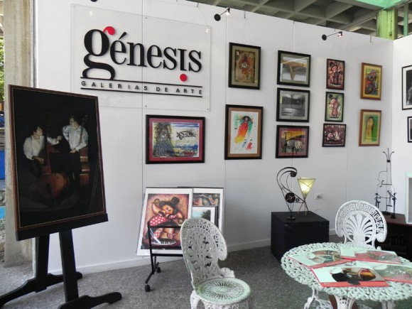 Génesis Galería se sumó a la Feria Comercial Cubadisco 2013.