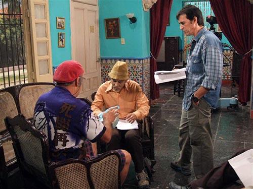 """""""Pánfilo y Chequera"""", personajes del programa humorístico Vivir del cuento"""