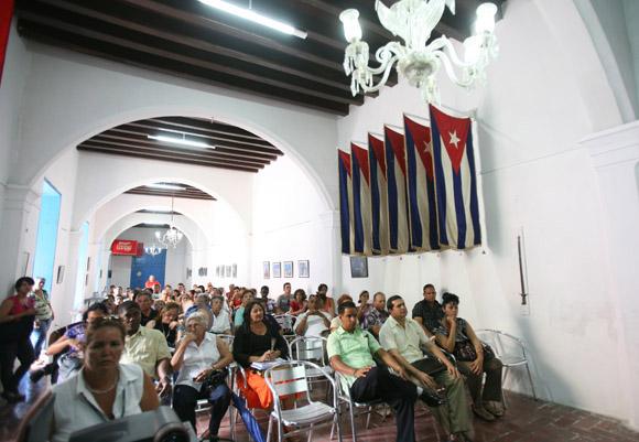 Presentación del Libro Por Esto de Armando Hart, en Romerias de Mayo. Foto: Ismael Francisco/Cubadebate