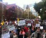 Marcha contra Monsanto. Foto: Archivo.