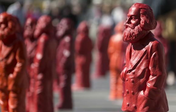 Esculturas de Marx