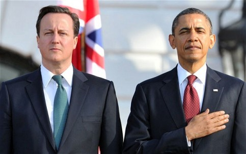 Obama-Cameron. Foto: Archivo.
