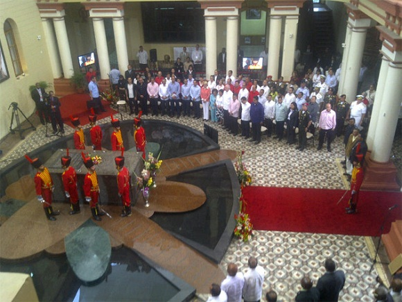 petrocaribe presidentes homenaje hugo chavez