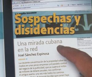 portada del libro Sospechas y disidencias - de Iroel Sánchez