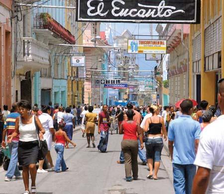 Calle Las Enramadas,  Santiago de Cuba.