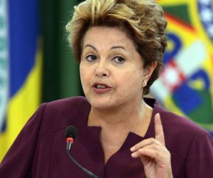 Dilma Rousseff. Foto: AFP.