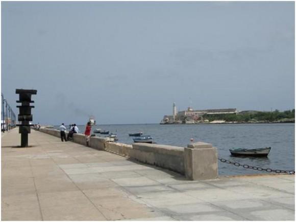 Entrada de la Bahía de La Habana  Foto Alexis Rodríguez