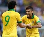 Fred y Neymar
