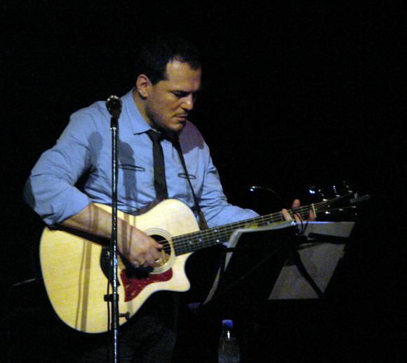 Ismael Serrano en concierto, La Habana-Cuba. Foto: Daylén Vega/Cubadebate.