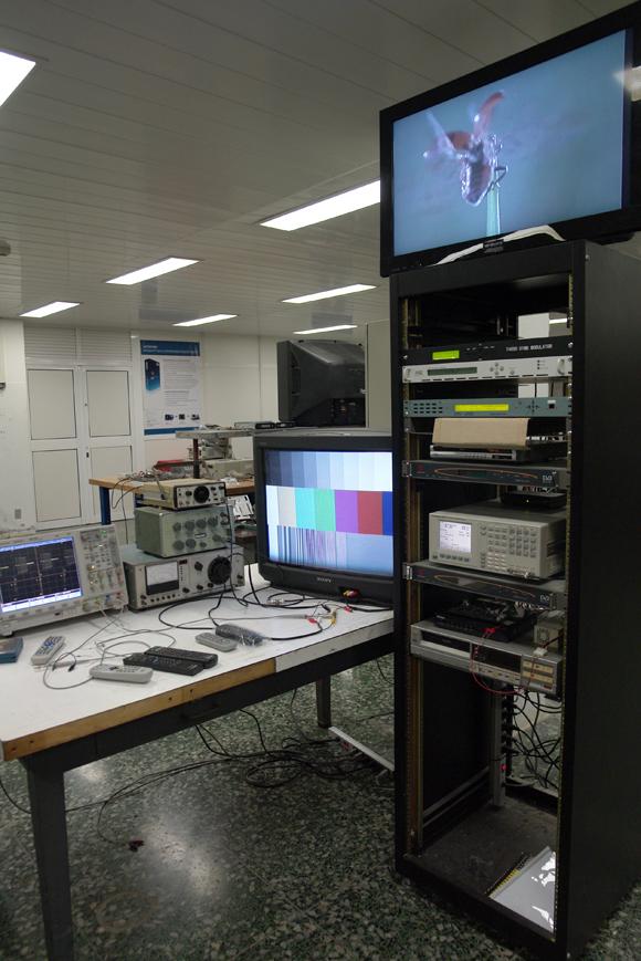 Laboratorio de televisión digital, LACETEL. Foto: Daylén Vega/Cubadebate.