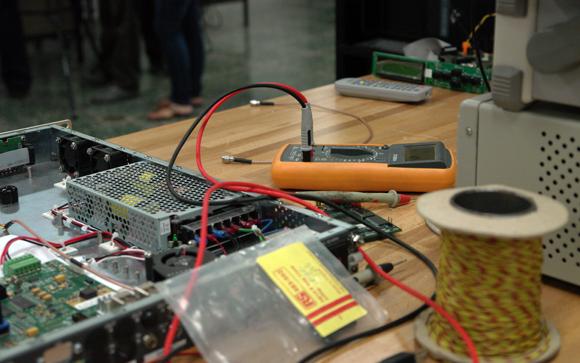 Laboratorio de televisión digital, LACETEL. Foto: Rosana Berjaga/Cubadebate.