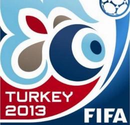 Logo mundial sub 20 de fútbol en turquía