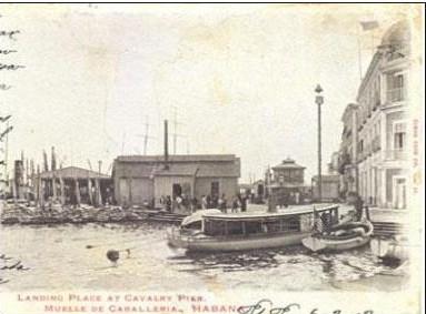 Muelle de Caballería La Habana Vieja. Foto Cortesía de la Oficina del Historiador de la Ciudad