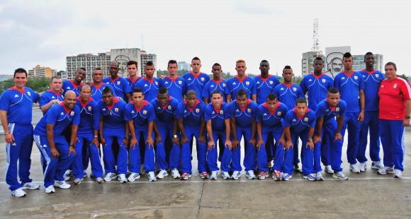 La selección nacional sub-20 al Mundial de Turquía. Foto: Ricardo López Hevia