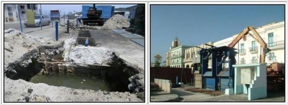 Trabajo en el Cubo de La Habana Vieja