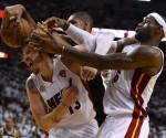 Un peleado partido Heat Spurs