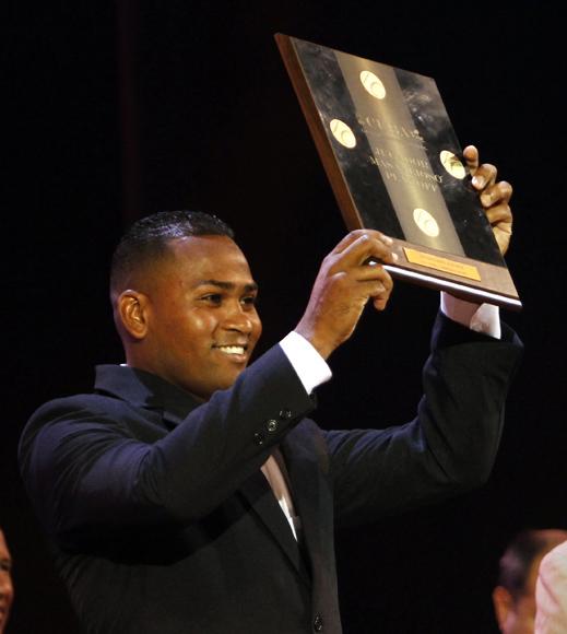 Freddy Asiel Álvarez, jugador mas valioso de los Play Off. Foto: Ismael Francisco/Cubadebate.
