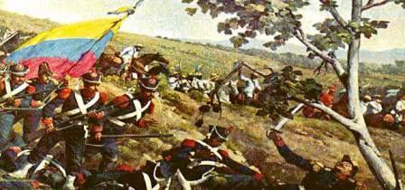 Batalla de Carabobo. Obra plástica.