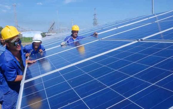 En fase de terminación parque fotovoltaico en Pinar del Río.